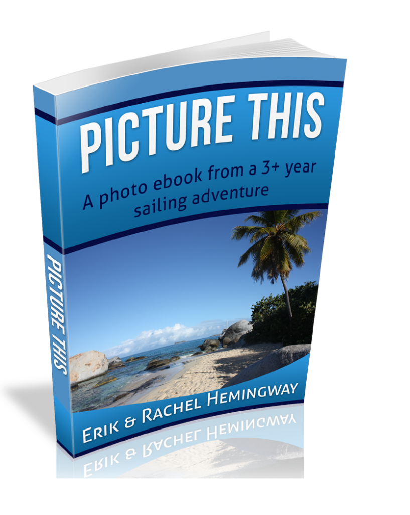 plus a photo ebook from 3 year sailing adventure for FREE!